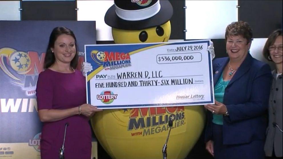 warren ganadora megamillions 536